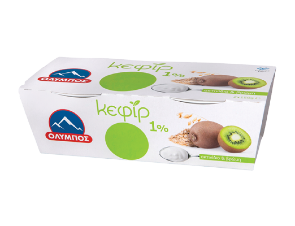 Kefir Yoghurt with kiwi and oats
